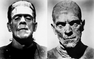 Boris Karloff played Frankenstein's monster and the Mummy - 3 millennia after the people of Cladh Hallan perfected the mash-up.