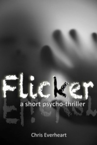 flicker a short psycho thriller cover