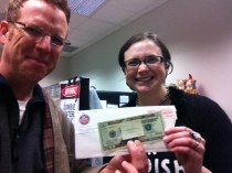 Giving back - one song at a time. $20 karaoke winnings goes to Johnson City Public LIbrary teen book clubs.