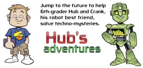 Hub and Crank techno-mysteries hit the shelves Fall 2014!